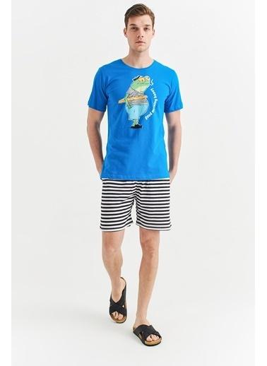 Avva Pijama Takım Mavi